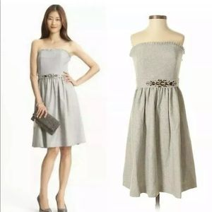 Size 0 BANANA REPUBLIC Gray wool dress